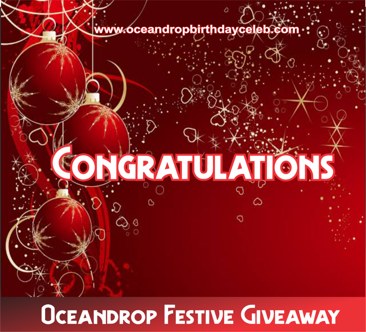 Christmas Giveaway 2021 Celebrities Weekend Giveaway Brought To You By Oceandrop